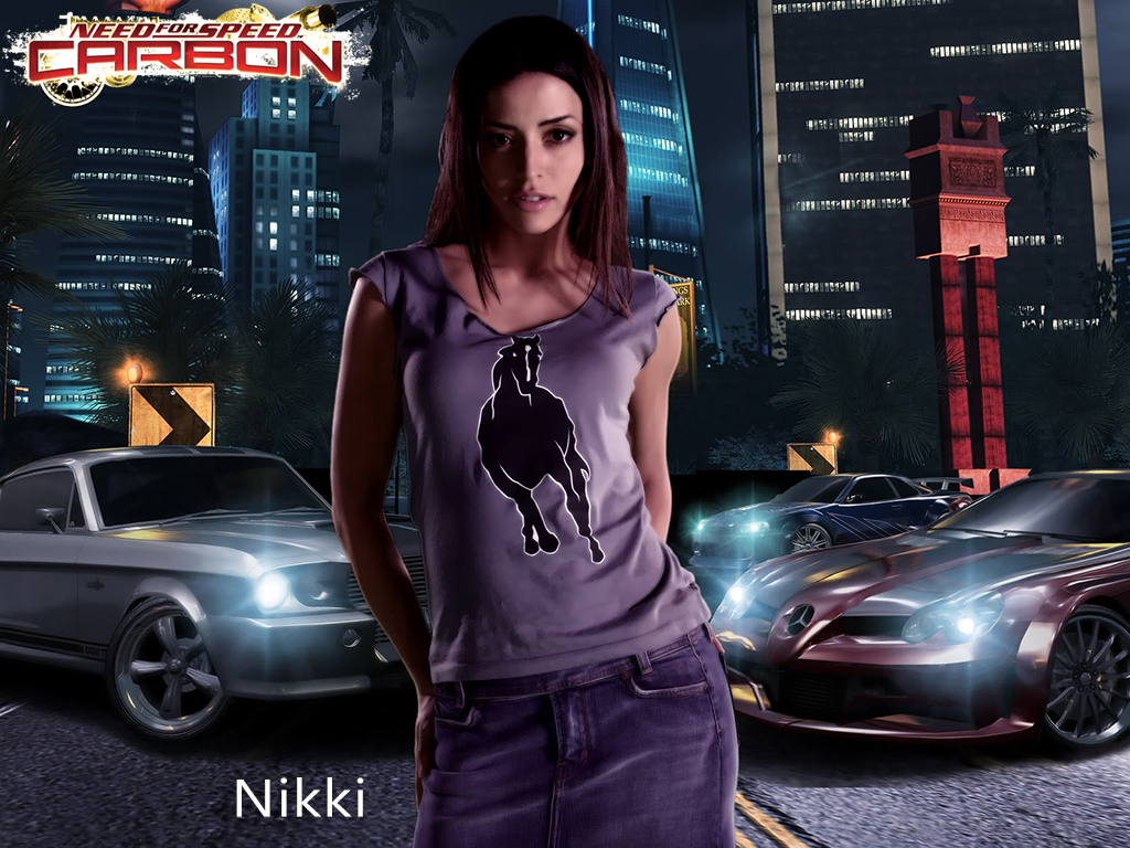 Nikki - NFS - Need for Speed Carbon