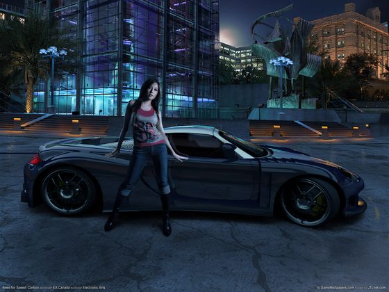 NFS - Need for Speed Carbon - Tapeta - Wallpaper