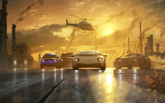 NFS - Need for Speed Most Wanted (2012) - Tapeta - Wallpaper