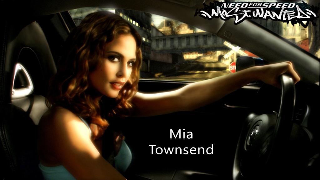 NFS - Need for Speed Most Wanted - Mia Townsend