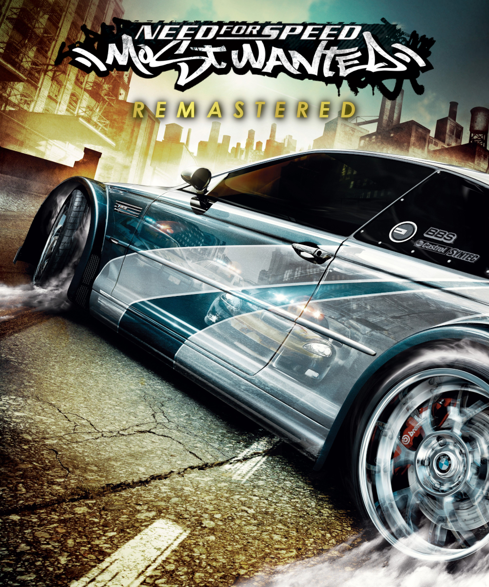 Remastered Cover - Need for Speed Most Wanted - NFS