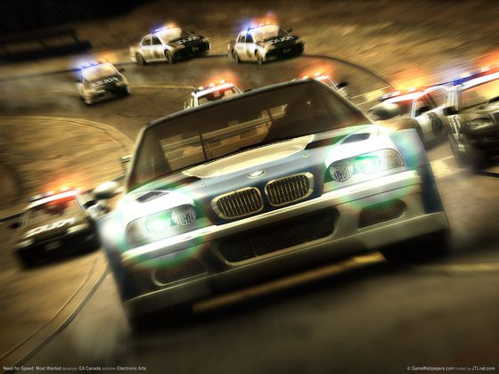 Need for Speed Most Wanted - NFS - Tapeta - Wallpaper