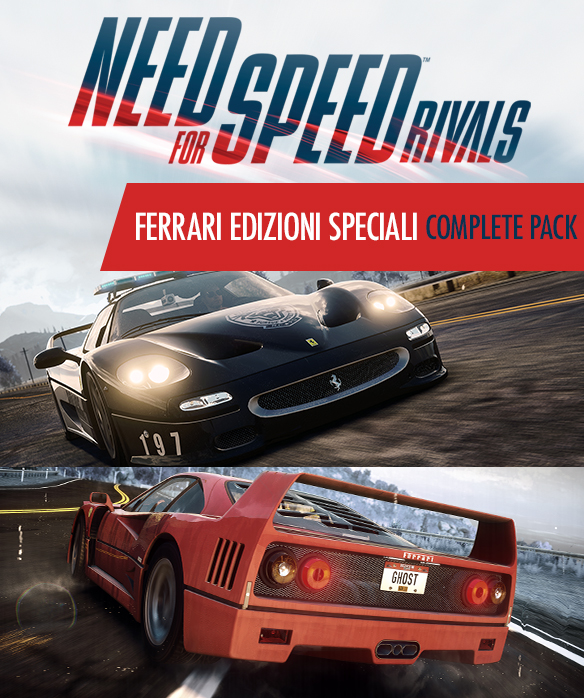 NFS - Need for Speed Most Wanted Rivals - Edycja Specjalna aut Ferrari