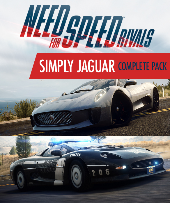 NFS - Need for Speed Rivals - Pakiet aut Jaguar
