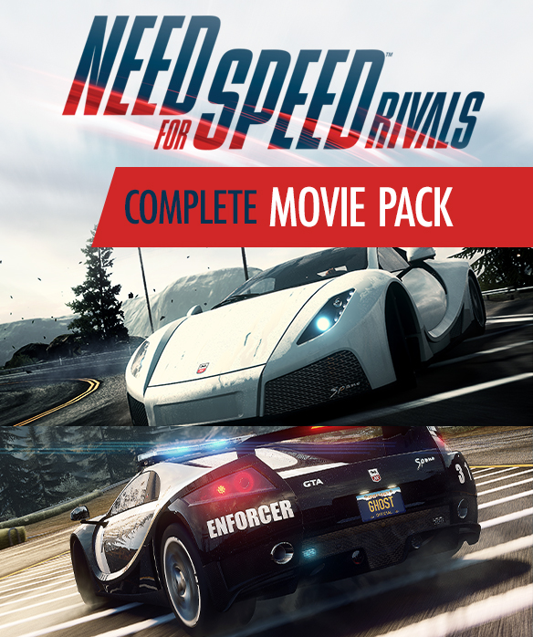 NFS - Need for Speed Rivals - Pakiet aut z filmu