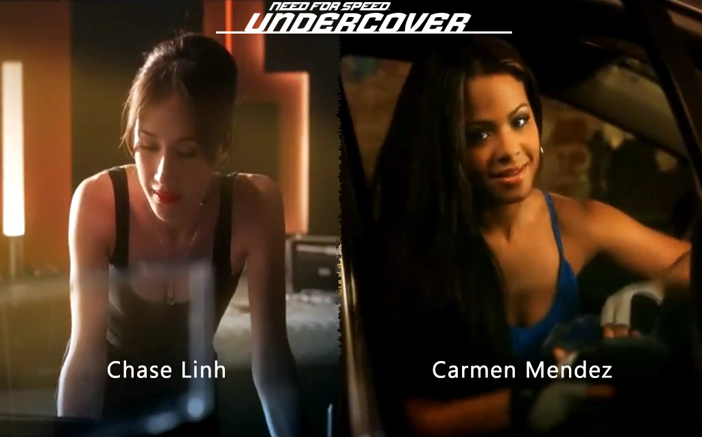 NFS - Need for Speed Undercover - Chase Linh - Carmen Mendez