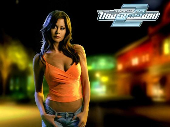 NFS - Need for Speed Underground 2 - Tapeta - Wallpaper