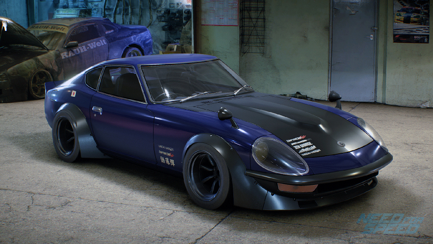 Edytor winyli - NFS - Need for Speed