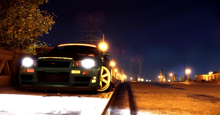 NFS No Limits' Skyline GTR