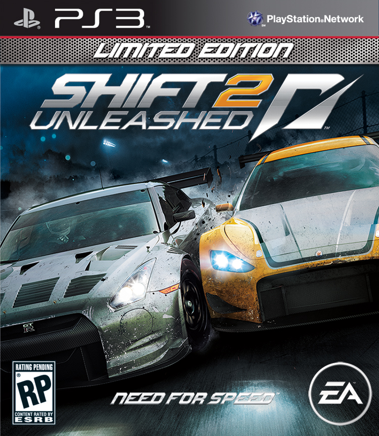 NFS - Need for Speed - Shift 2: Unleashed Limited Edition PS3