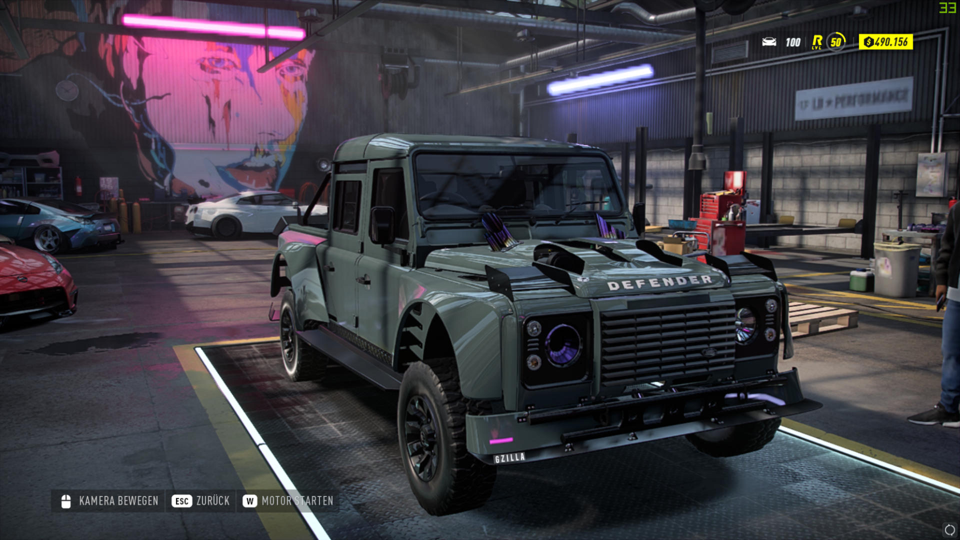 NFS - Need for Speed Heat - Land Rover Defender